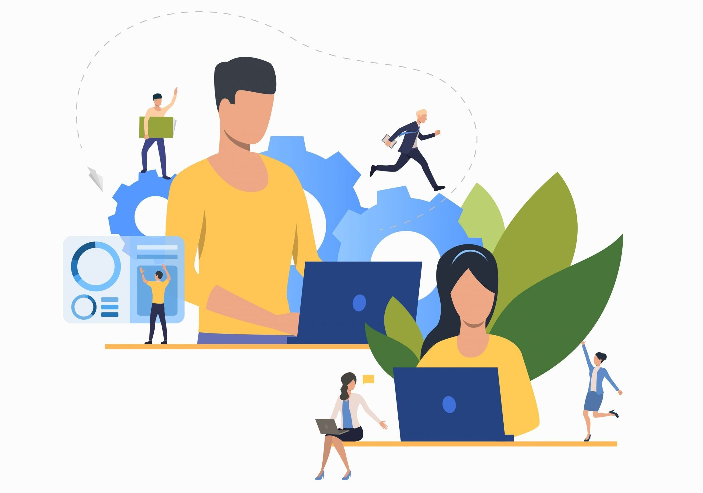 The Move from Remote to Hybrid Work