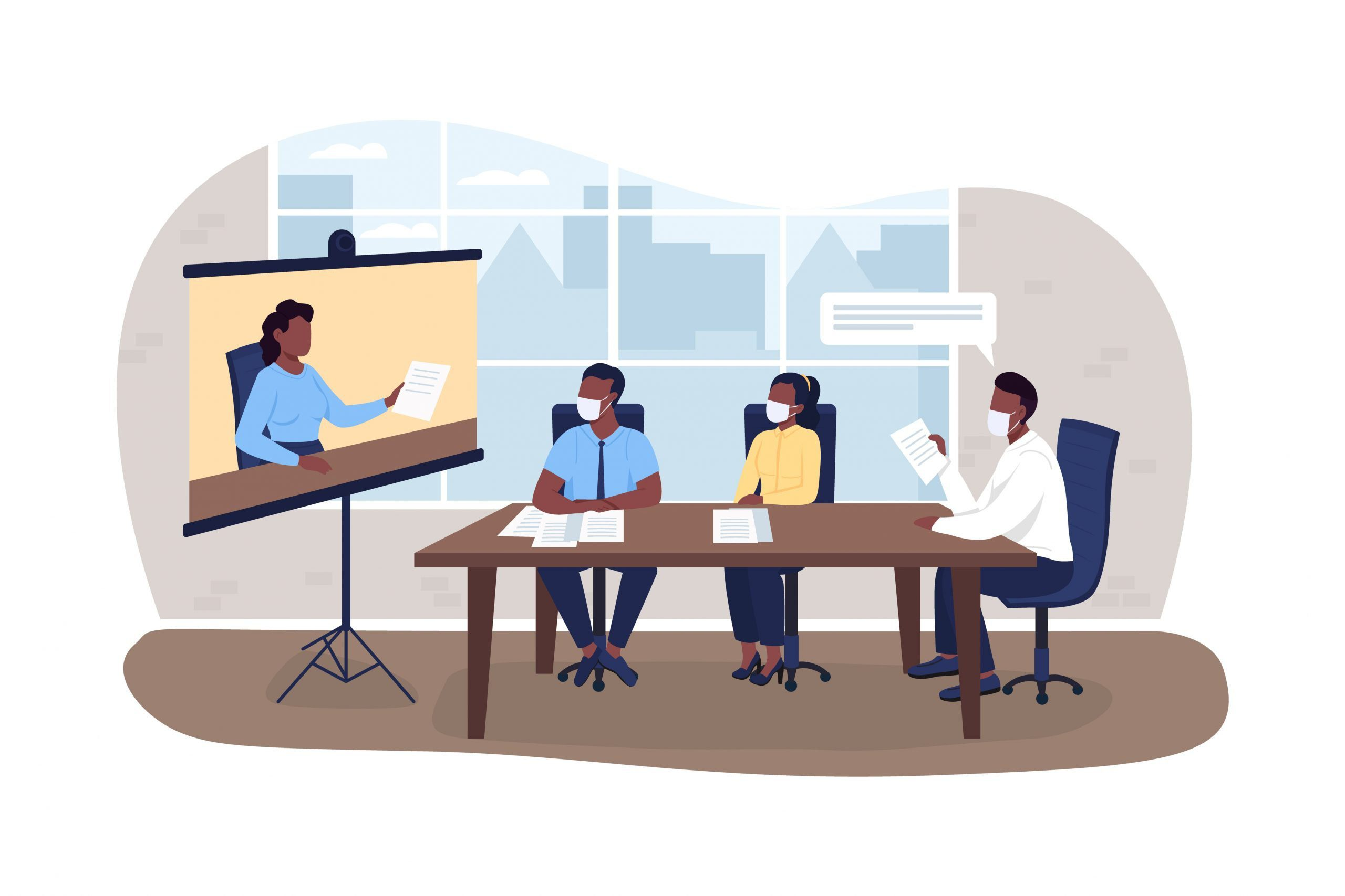 Tips for Running a Hybrid Meeting